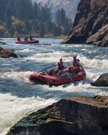 Whiteriver rafting