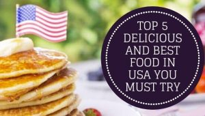 Top 5 Delicious and Best Food in USA You Must Try