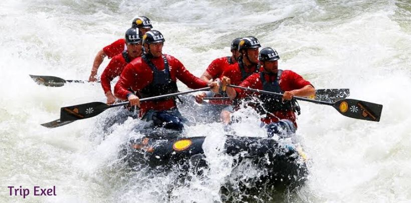 White Water Rafting In Utah