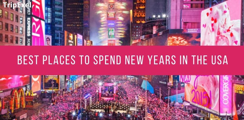 best places to spend new years in the usa