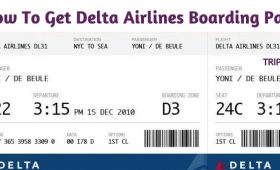 How To Get Delta Airlines Boarding Pass