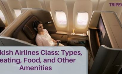 Turkish Airlines Class_ Types, Seating, Food, and Other Amenities